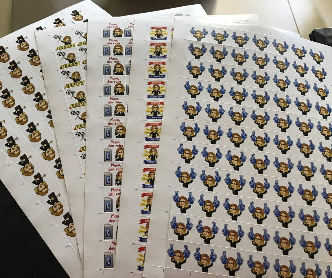 vanessa-foto stickers